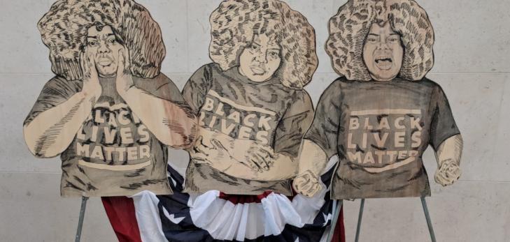 Boston artist Chanel Thervil's work displayed at MFA Juneteenth celebration