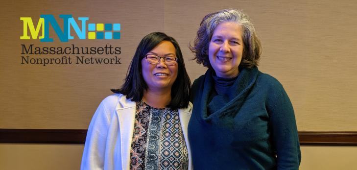 Elaine Ng and Jackie Cefola at the MNN Conference