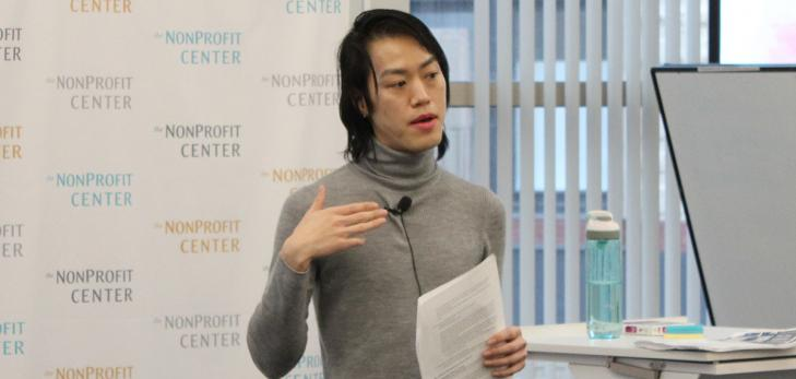 Kevin Lam, Organizing Director of the Asian American Resource Workshop