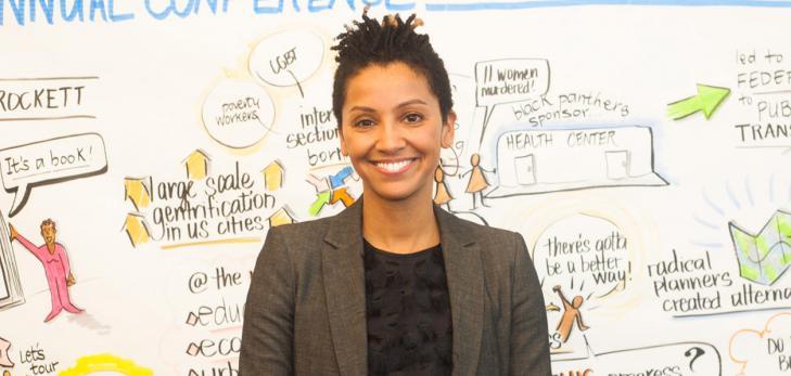 """Dr. Karilyn Crockett, author of """"People before Highways"""""""
