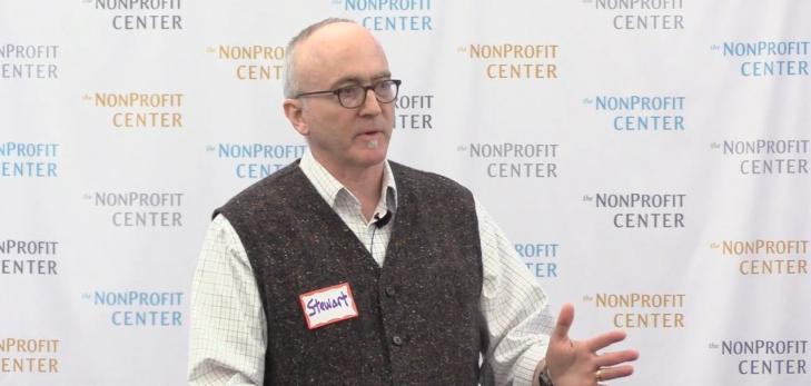 Stewart Lanier presenting at a workshop